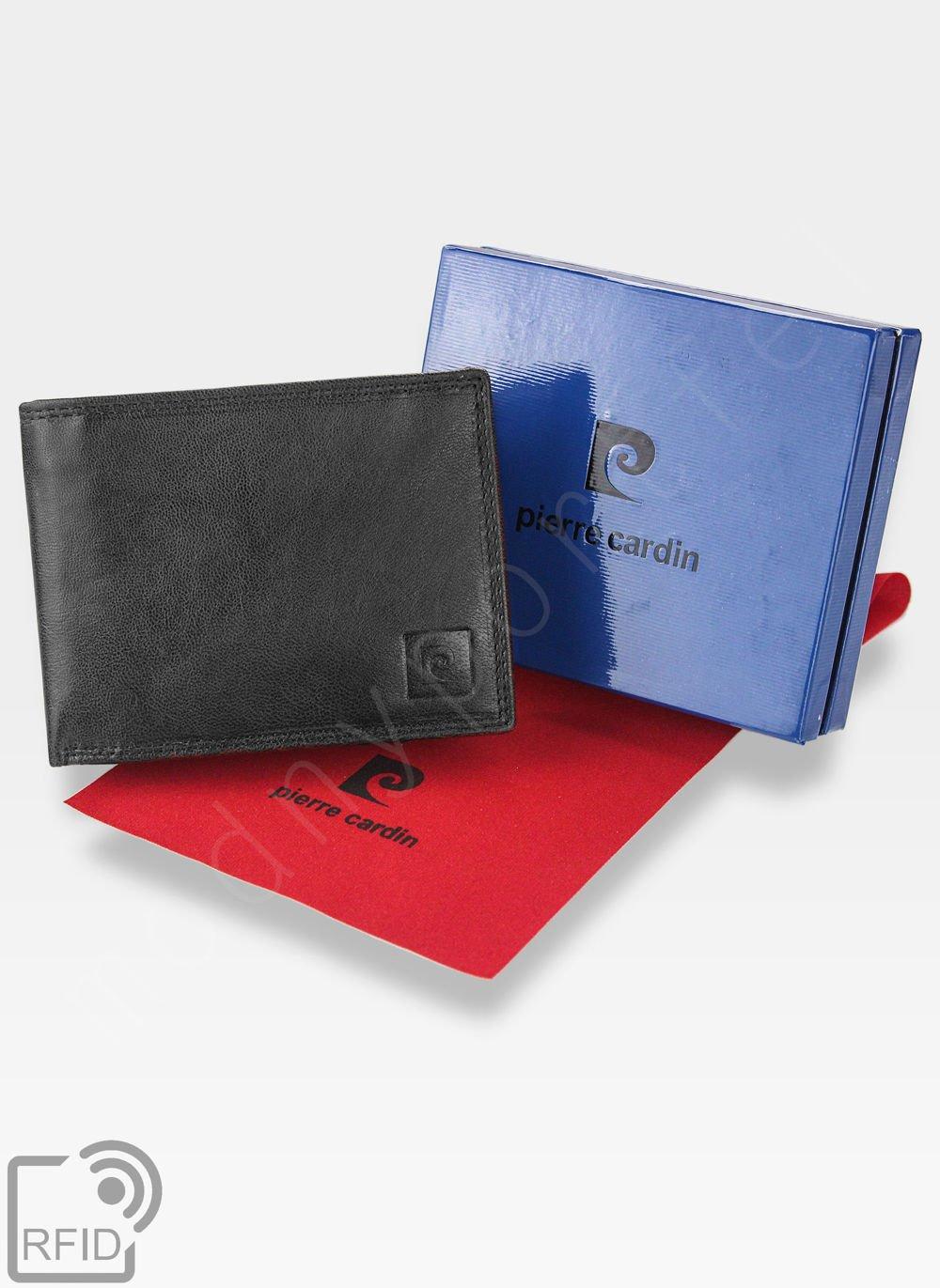 7705e7546acd4 Kliknij, aby powiększyć; Portfel Męski Pierre Cardin Skórzany Bezpieczny Portfel  RFID ...