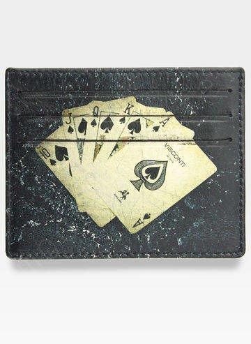 Etui Cardholder Męski Skórzany Visconti Na Karty Limitowana Edycja