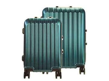Komplet walizek 2w1 A4 Ormi PC016 morski
