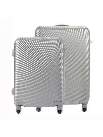 Komplet walizek 2w1 A4 Pierre Cardin ABS8077 RUIAN11 x2 Z popiel