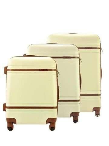 Komplet walizek 3w1 A4 Pierre Cardin 877 LISA01 x3 Z beż