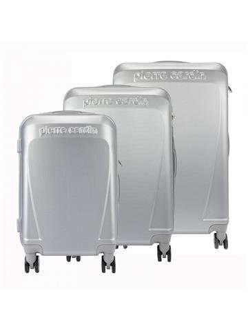 Komplet walizek 3w1 Pierre Cardin ABS1256 RUIAN10 x3 Z popiel