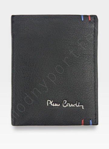 Mały I Cienki  Portfel Męski PIERRE CARDIN Skórzany Tilak22 1810 RFID