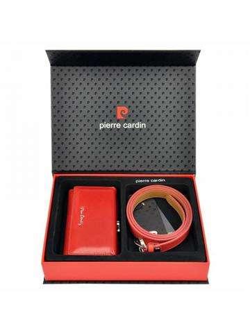 Pierre Cardin ZG-W-03 czerwony