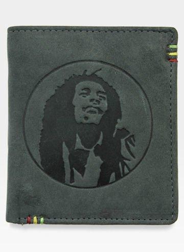 Portfel Męski Mustard ACCESSORIES Bob Marley (Herb)