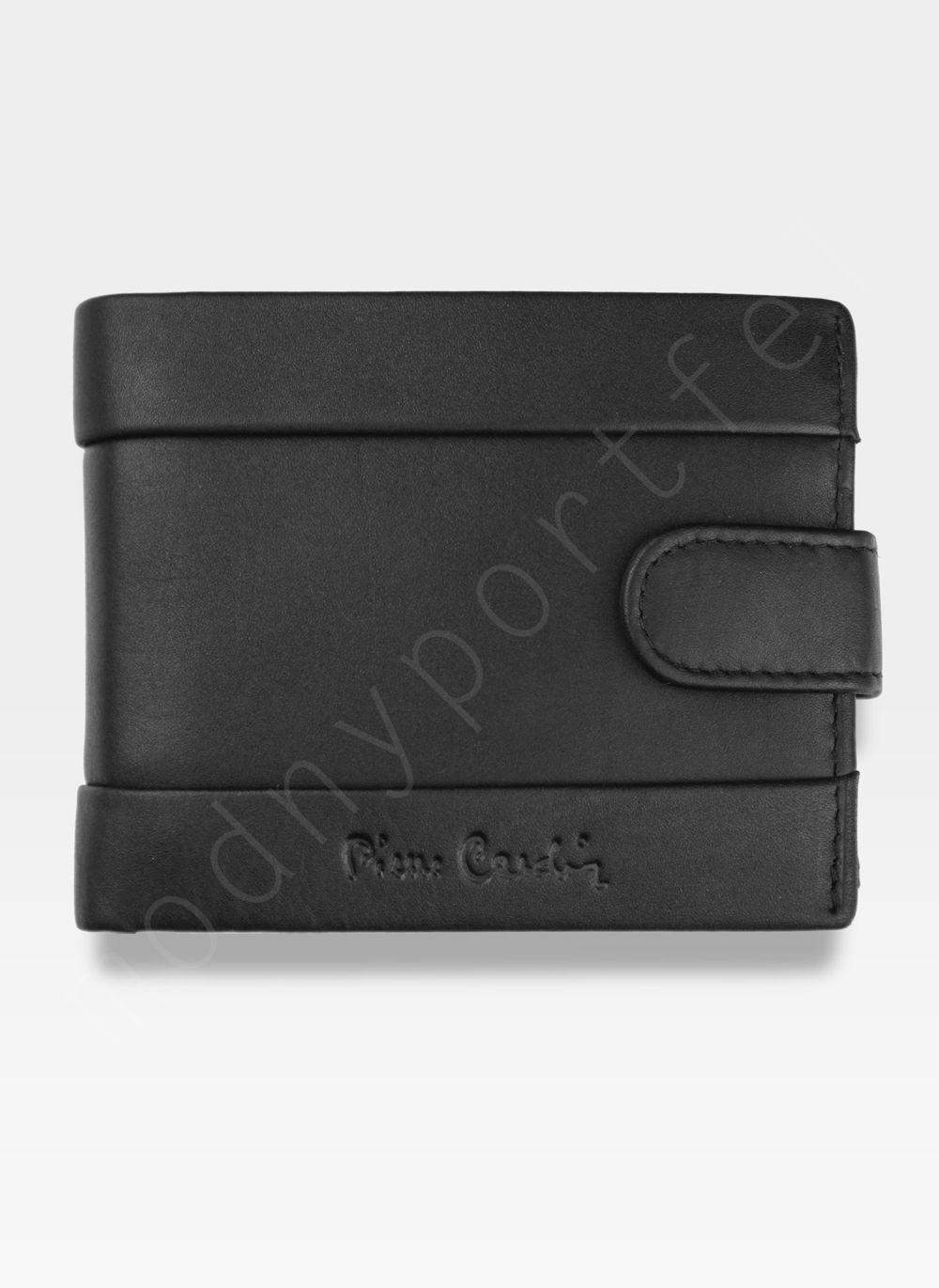 18524d43dac0c Portfel Męski Pierre Cardin Skórzany Klasyczny Zapinany Tilak25 323A Sahara  RFID Kliknij