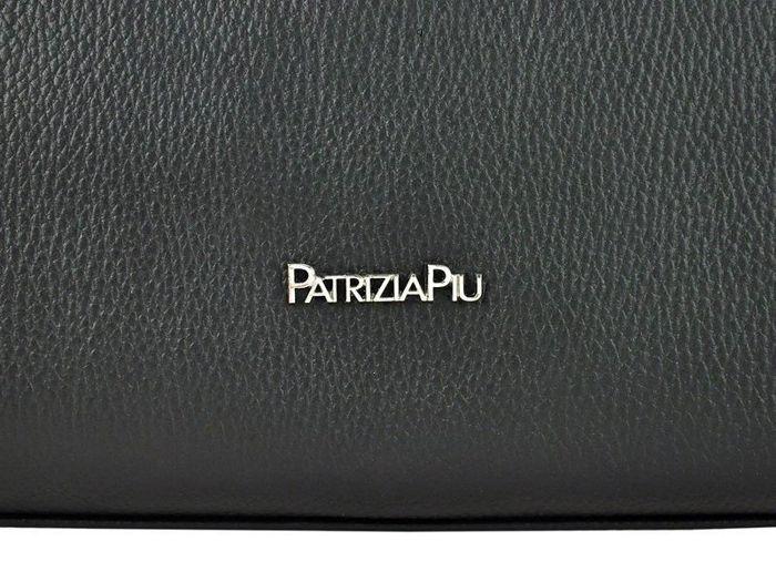 Damska Torebka Skórzana A4 Patrizia Piu 118-012 czarny