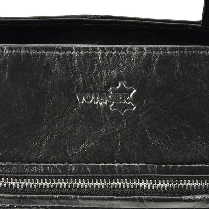 Damska Torebka Skórzana Voyager 498 N granatowy