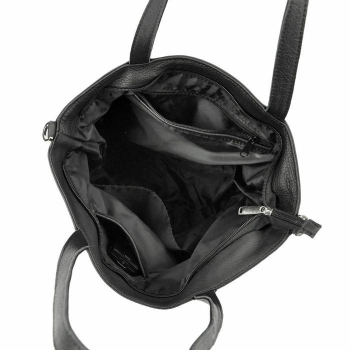 Damska Torebka Skórzana Voyager 504 N czarny