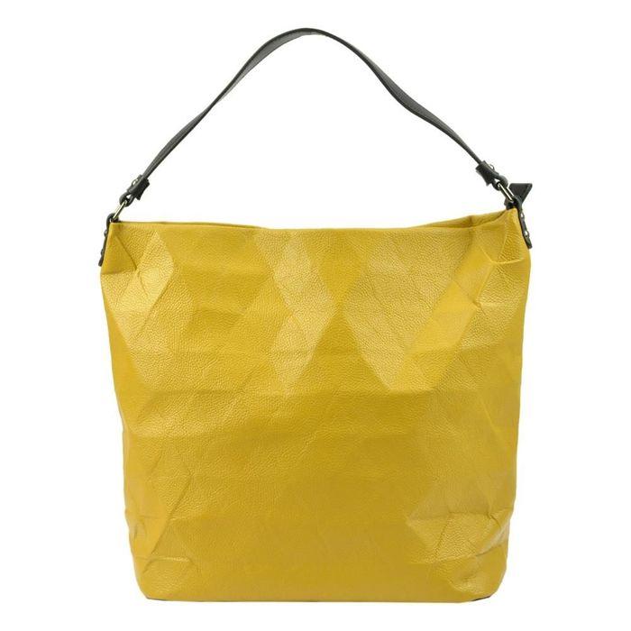 Damska Torebka ekologiczna A4 Lookat LK-D7274 żółty