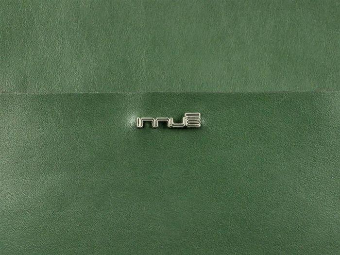 Damska Torebka Skórzana A4 Innue V8005 zielony
