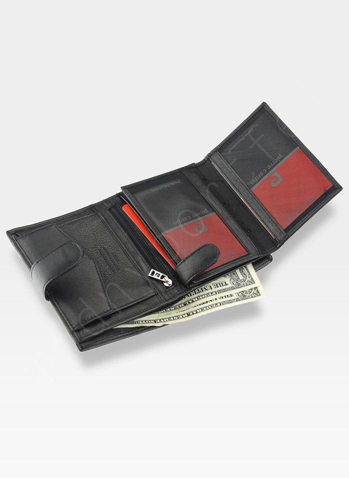 Fajny portfel męski Desert Pierre Cardin Tilak15 326A Sahara RFID