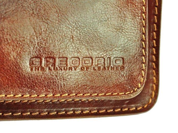 Teczka Gregorio 807T brązowy