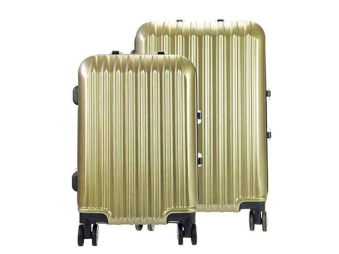 Komplet walizek 2w1 A4 Ormi PC016 złoty