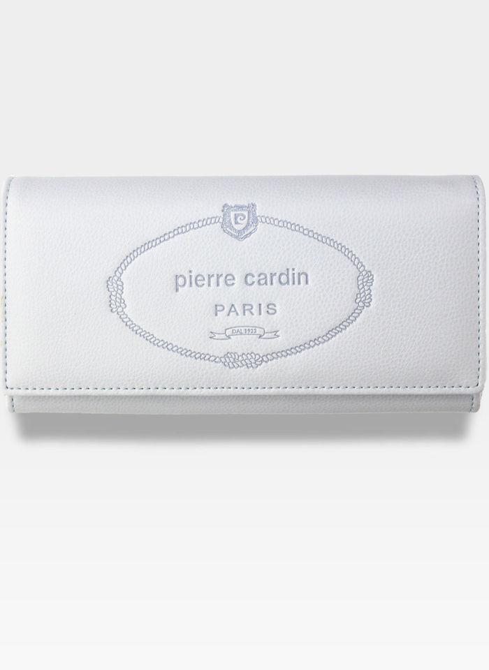Luksusowy Modny Portfel Damski Pierre Cardin Blue