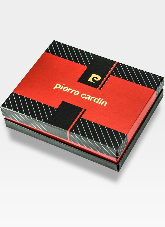 Mały Cienki Portfel Męski Pierre Cardin Skórzany Tilak29 8824  RFID