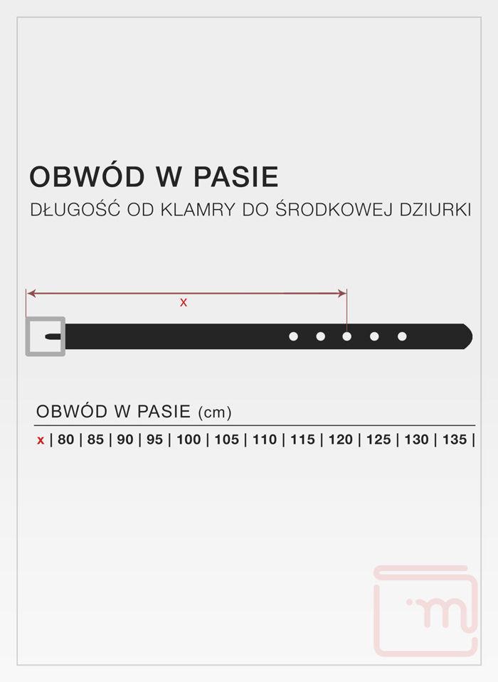 Pasek Męski Pierre Cardin 70007 Najwyższej Jakości