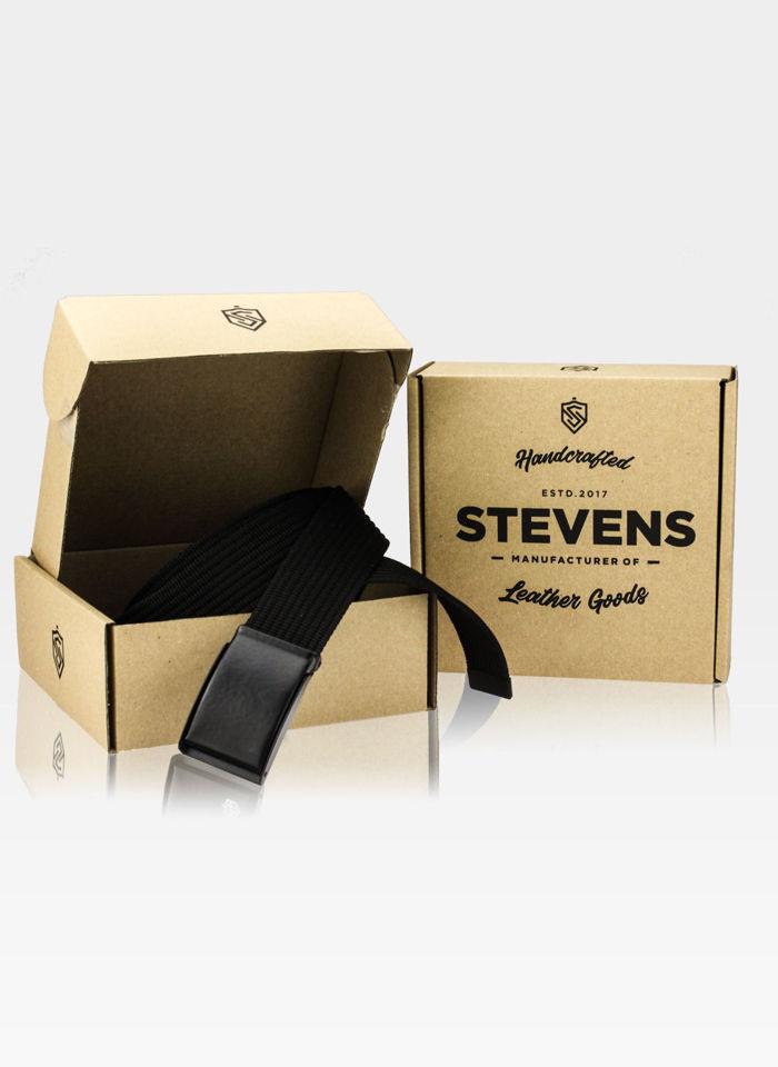 Pasek parciany do spodni marki Stevens® w komplecie z pudełkiem