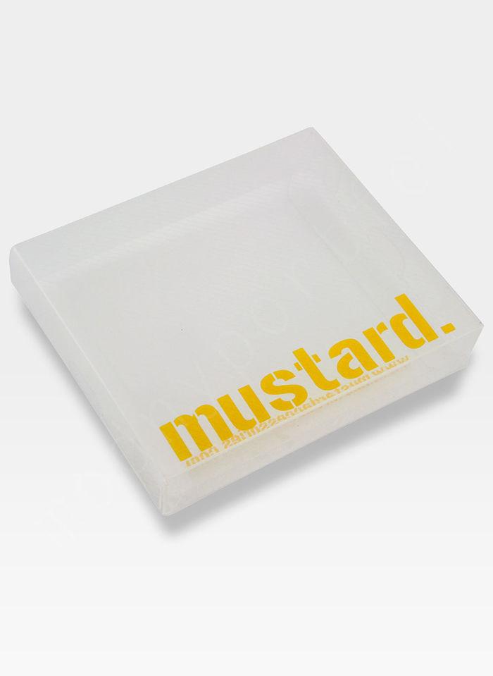 Portfel Męski Mustard BE MORE SLOTH SLIM Na Prezent
