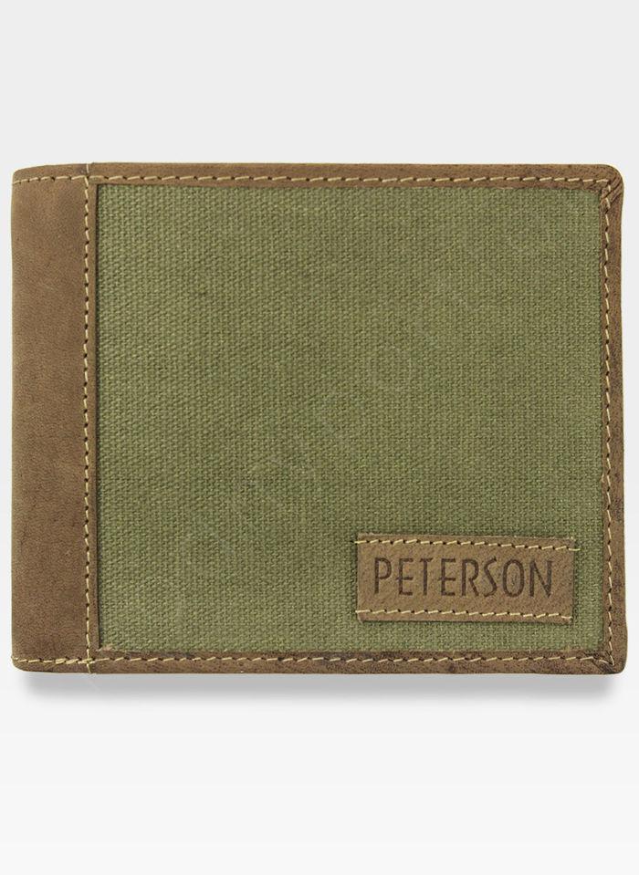 Portfel Męski Peterson Skórzany  334A