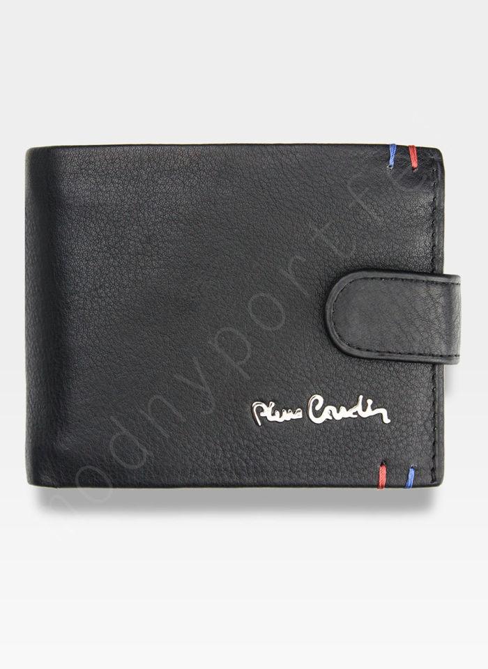 Portfel Męski Pierre Cardin Skórzany Klasyczny Zapinany Tilak22 323A Sahara RFID