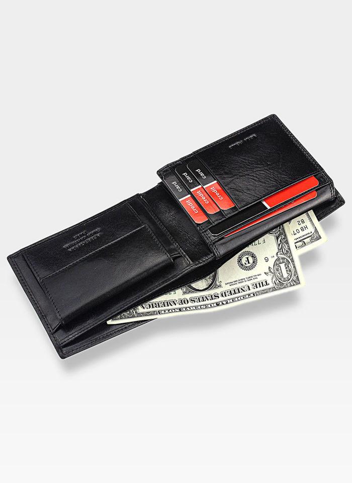Portfel Męski Pierre Cardin ys520.1 8806 + Ninja Card Zestaw Na prezent!