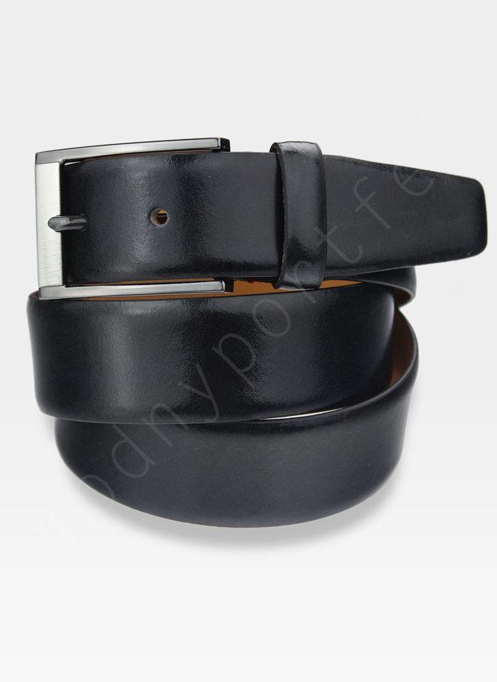 Skórzany Pasek Męski Pierre Cardin 70126 Skóra Najwyższej Jakości Czarno Brązowy