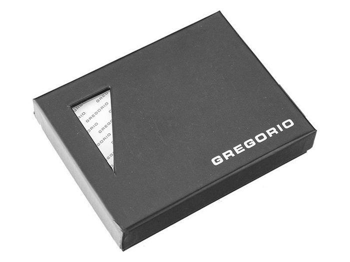 Stylowy skórzany portfel męsk iGregorio N4-VD czarny
