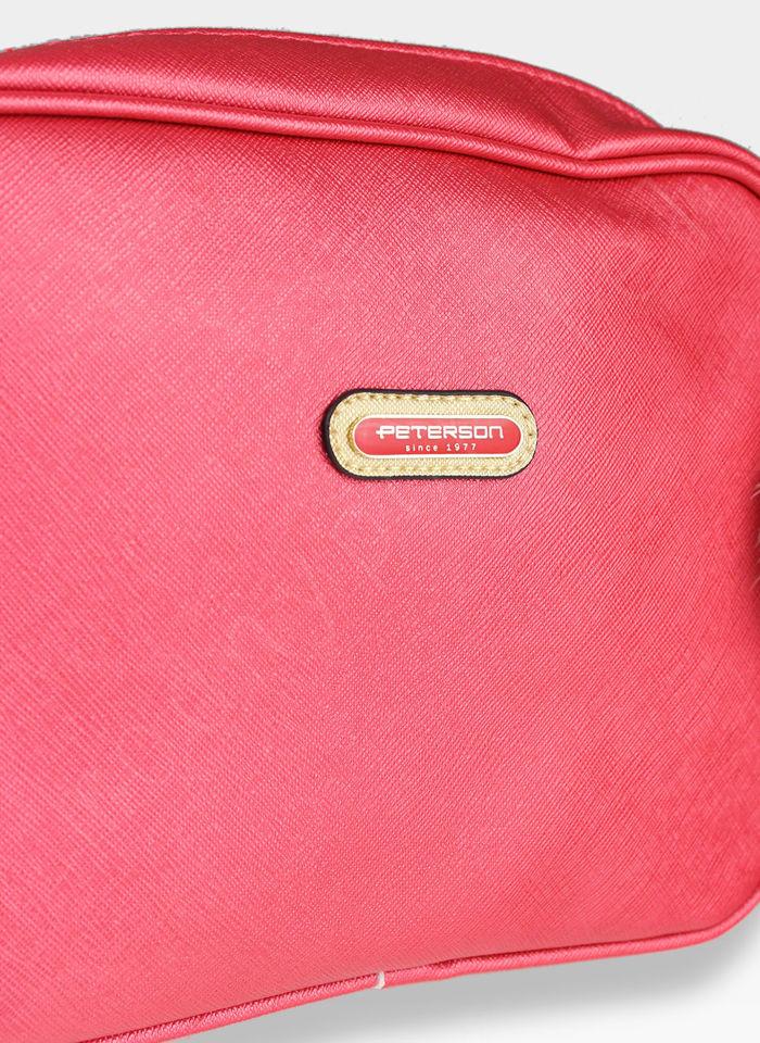 Torebka Listonoszka na ramię Peterson CITY 6 Czerwona