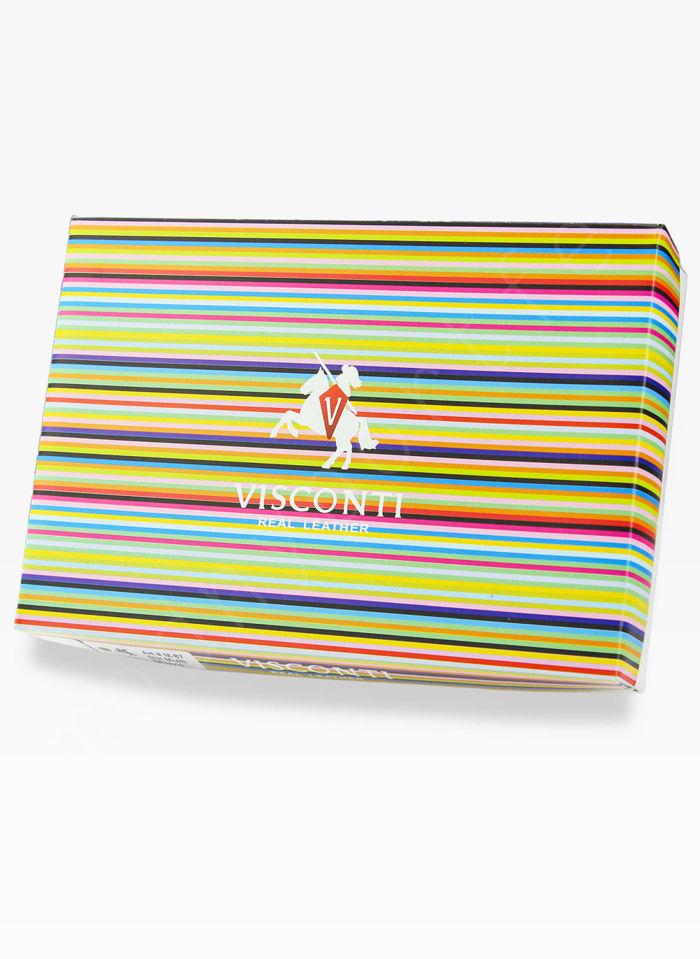Visconti Portfel Damski Skórzany Colorado CD22 Niebieski