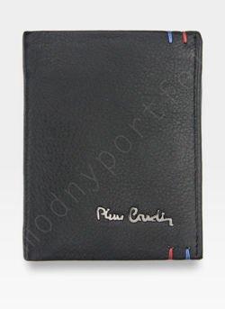 Mały I Cienki  Portfel Męski PIERRE CARDIN Skórzany Tilak22 1812 RFID