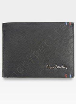 Modny Portfel Męski Pierre Cardin Oryginalny Skórzany Tilak22 8806 RFID
