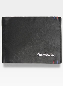 Pierre Cardin Męski Portfel Skórzany Modny Prezent Tilak22 325 RFID Pudełko