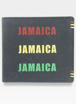 Portfel Męski Mustard JAMAICA Reggae Rasta Na prezent